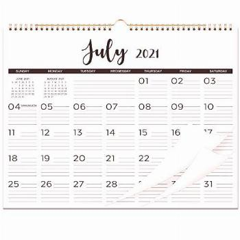 2021-2022 Calendar - 18 Monthly Wall Calendar with Thick