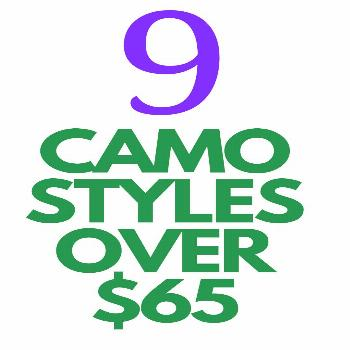 9 Camo Styles for Ladies Under $65 9 Camo Styles for Ladies Under $65 - Love a good camo print? Her