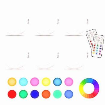 Cadrim Puck Lights, LED Color Changing Puck Lightings and