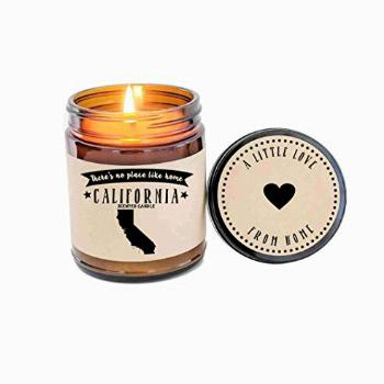 California Candle Scented Candle State Candle Gift No Place