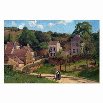 Camille Pissarro The Hermitage at Pontoise Puzzles for