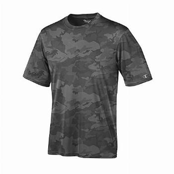 Champion by Mens Essential Double Dry Tee_Stone Grey