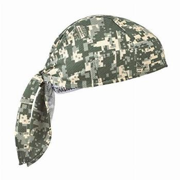 Ergodyne - 12478 Chill Its 6615 Dew Rag, Lined with Terry