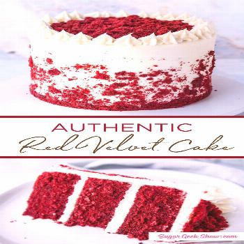 how to make an authentic red velvet layer cake with cream cheese frosting. If you've been wondering