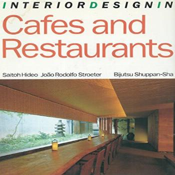 Interior Design in Cafes and Restaurants (English and