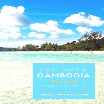 Koh Rong is my favorite island in Southeast Asia: it has beautiful beaches opportunities for hiking