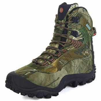 Manfen Womens Mid-Rise Waterproof Hiking Hunting Outdoor