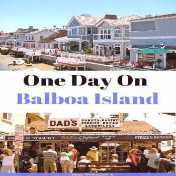 One Day On Balboa Island From eating the famous frozen chocolate-covered bananas to wandering along