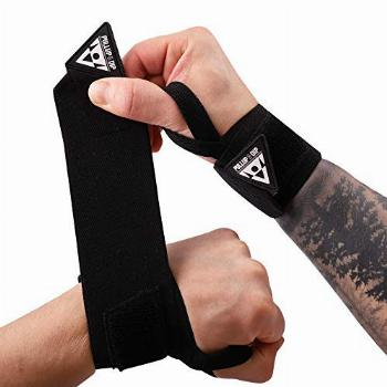 PULLUP & DIP Wrist Wraps, Professional Wrist Support for