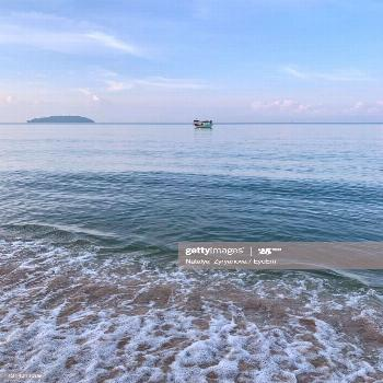 Sea View In Cambodia Photography ,