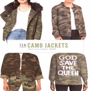Summer Fashion Tips Looking for an affordable camo jacket? I've personally sourced 10 high-quality