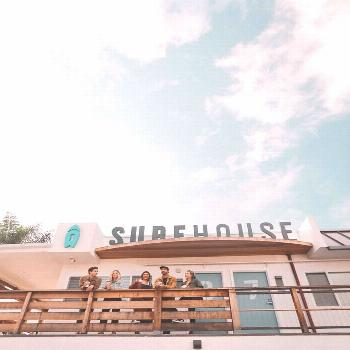 This upscale, modern boutique surf hotel in Encinitas, California offers eight thoughtfully designe