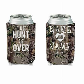"""VictoryStore Can Coolers: Custom Camouflage """"The Hunt Is"""