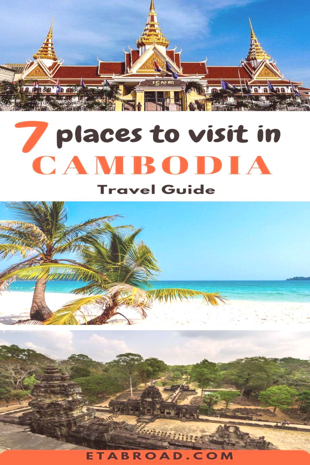 7 Best Places to Visit in Cambodia - EampT Abroad Cambodia is a very nice country and can offer more