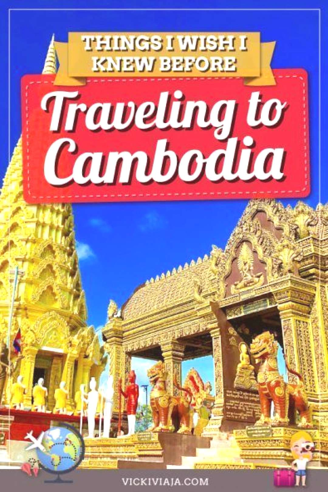 Are you planning to to Here you can find the best travel I wish I knew before going to Cambodia in