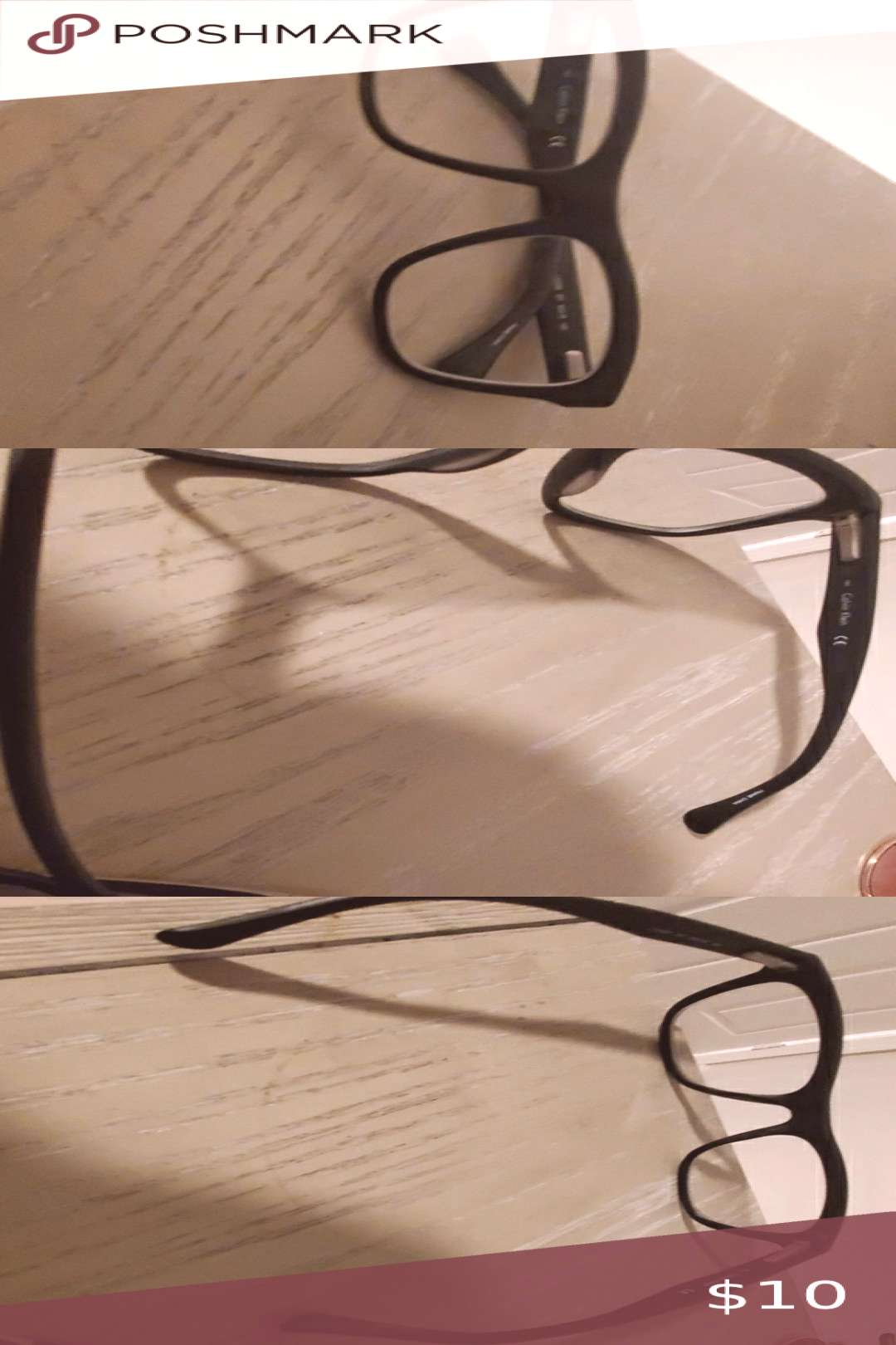 Calvin Klein glasses Great condition. Might have to replace lenses with your own prescription Calvi
