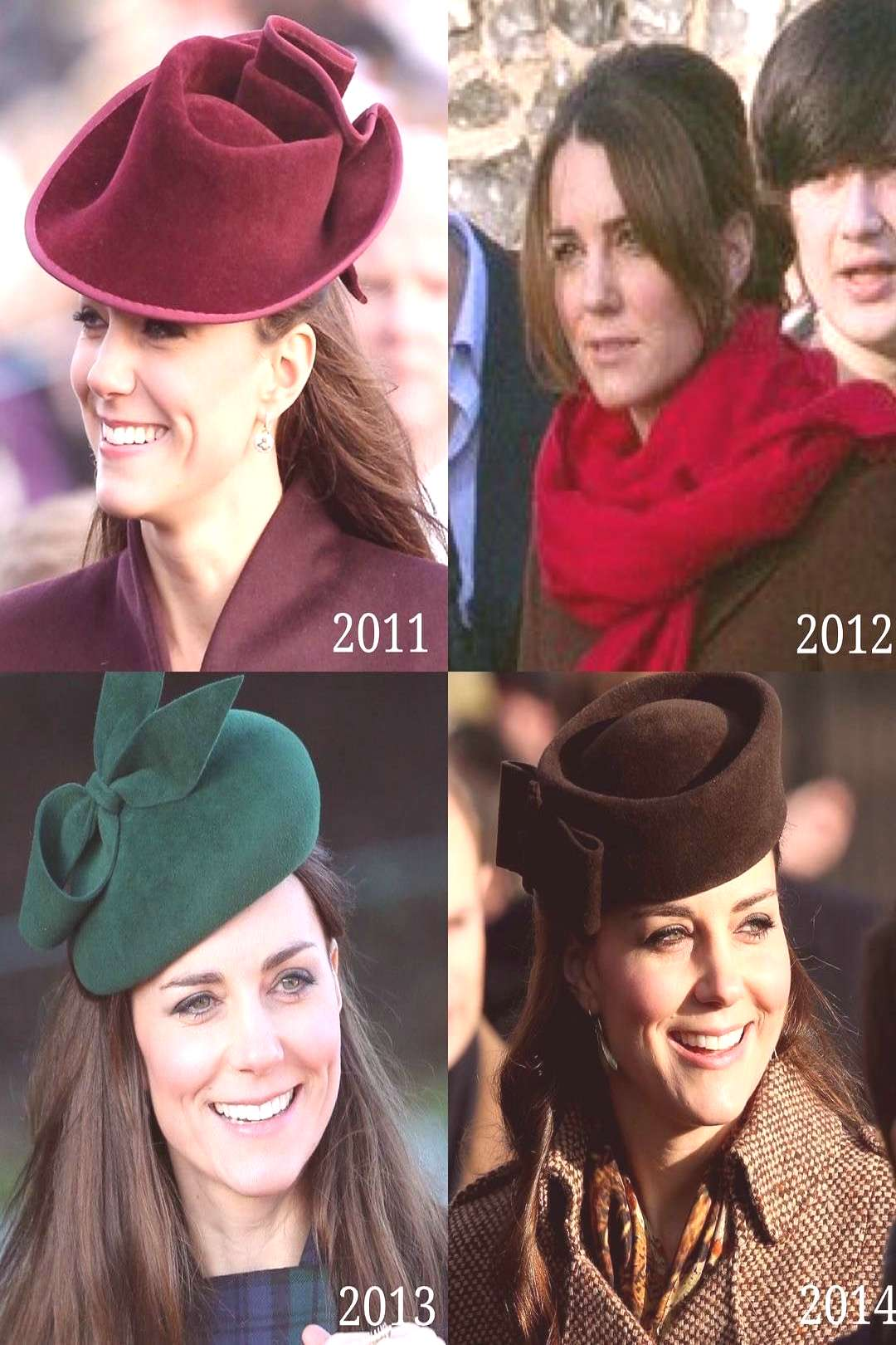 """Catherine Duchess of Cambridge on Instagram """"Merry Christmas Eve everyone! Here's a look bac.."""