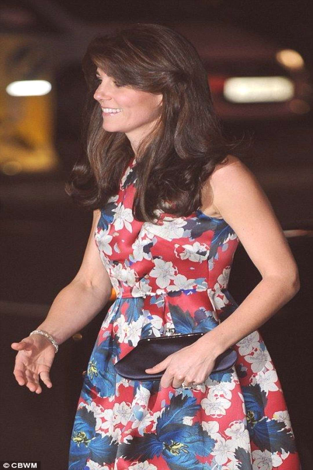 Duchess of Cambridge Kate Middleton wears Erdem dress to 100 Women in Hedge Funds dinner | Daily Ma