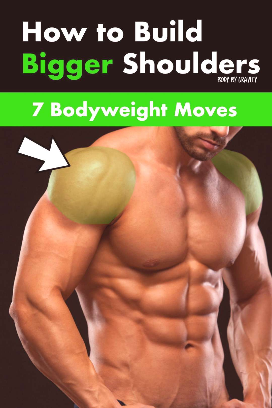 Growing your shoulder just became easier. Build rounder shoulders with these 7 powerful pikes push