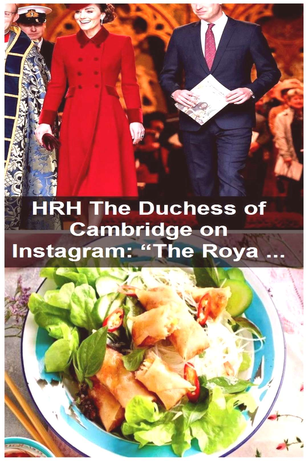 """HRH The Duchess of Cambridge on Instagram """"The Royal Family attended today's Commonwealth Da.."""