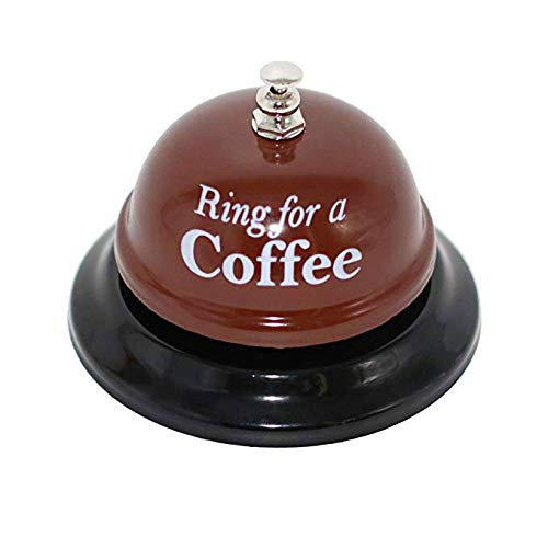 KiaoTime Desk Kitchen Bar Counter Top Service Call Bell Ring