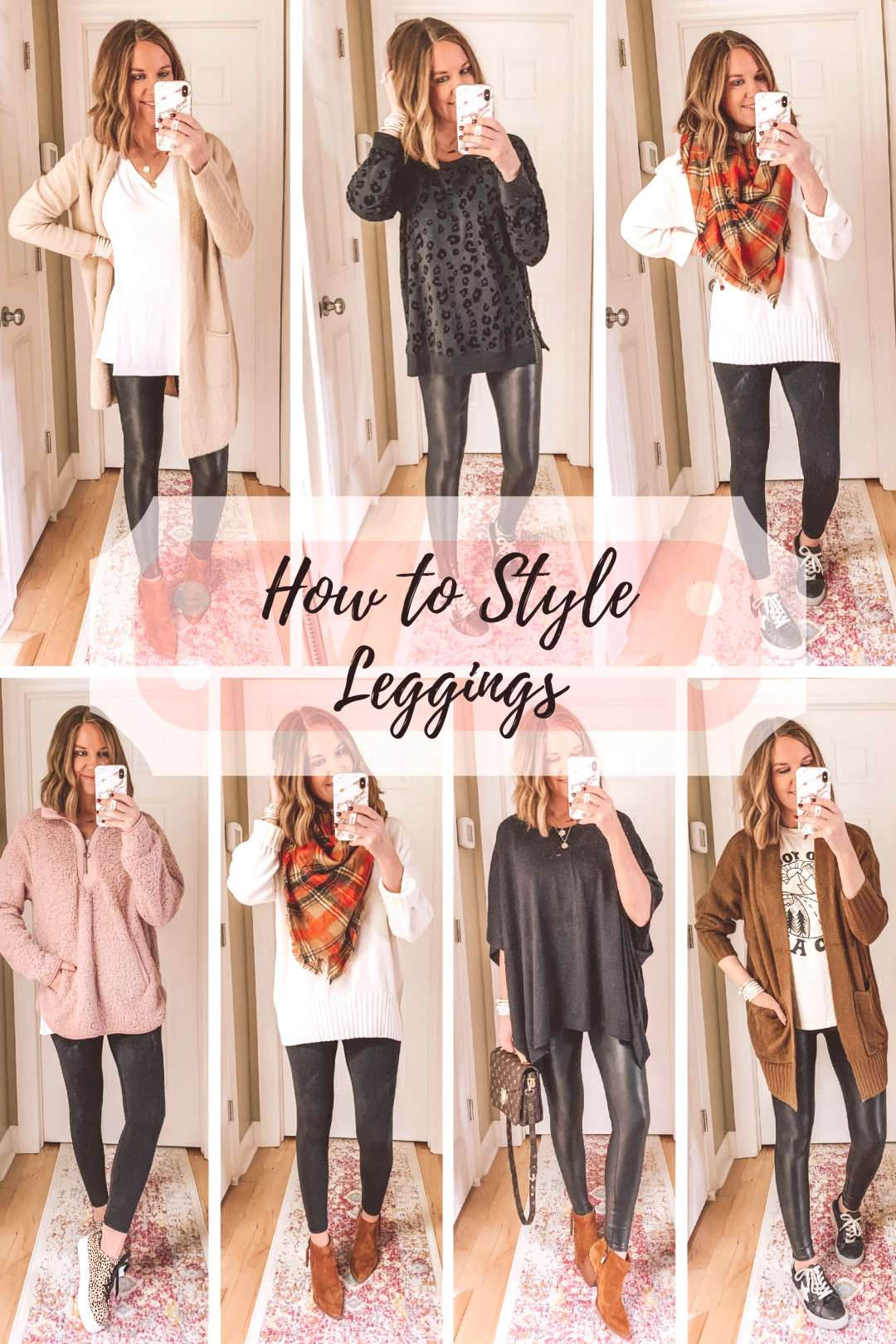 Leggings Outfits Inspiration for Fall and Winter - Wishes amp Reality How to Style Leggings