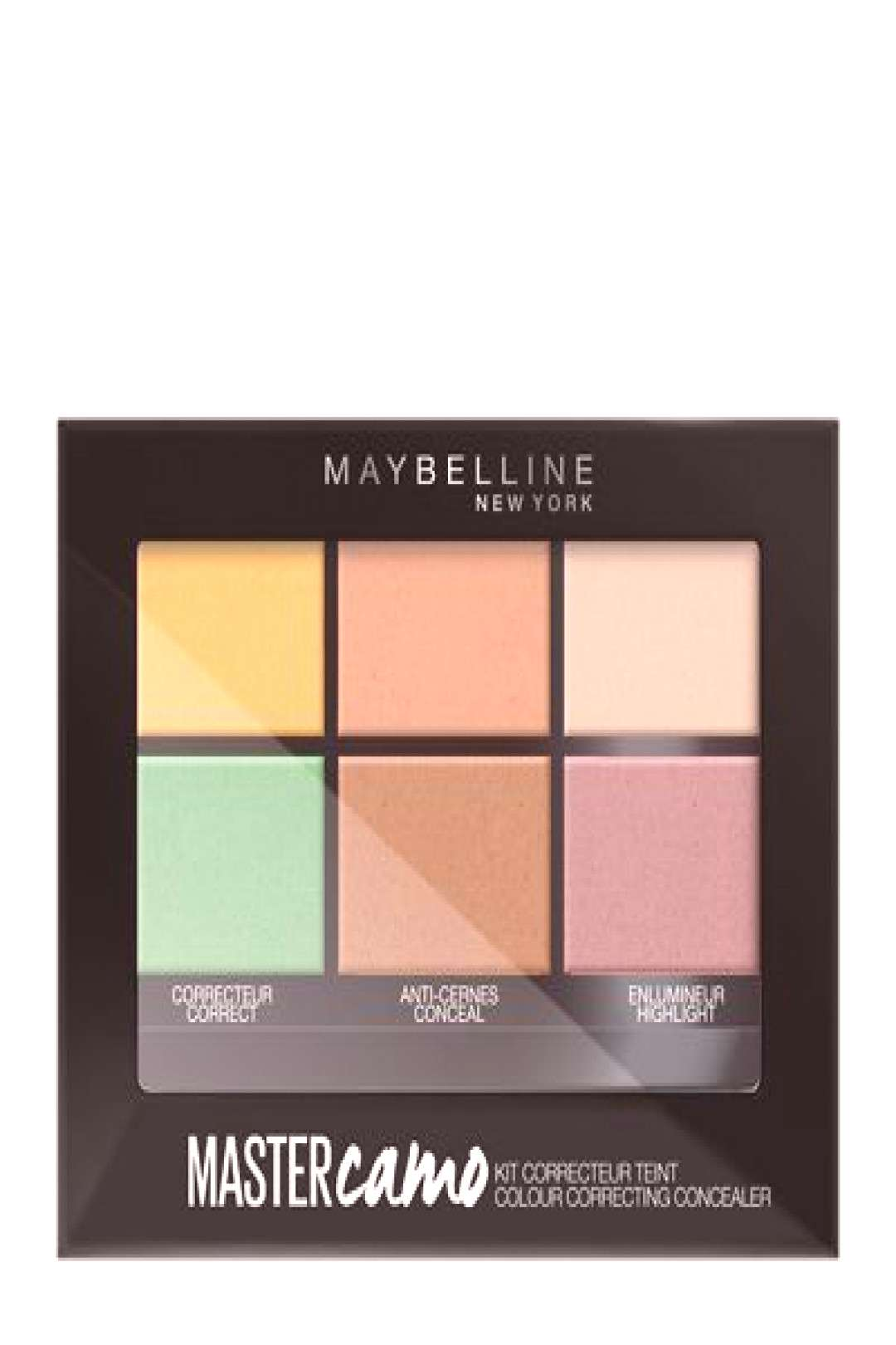 Maybelline Master Camo Color Correcting Concealer Kit 6g 01 Light#camo