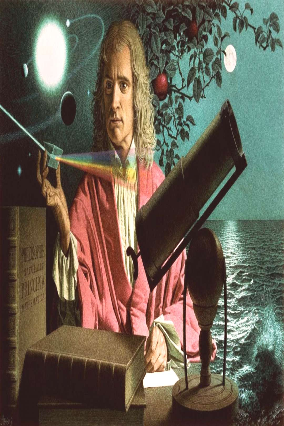 October 29, 1669 At the age of 26, Isaac Newton became the second Lucasian Professor of Mathematic