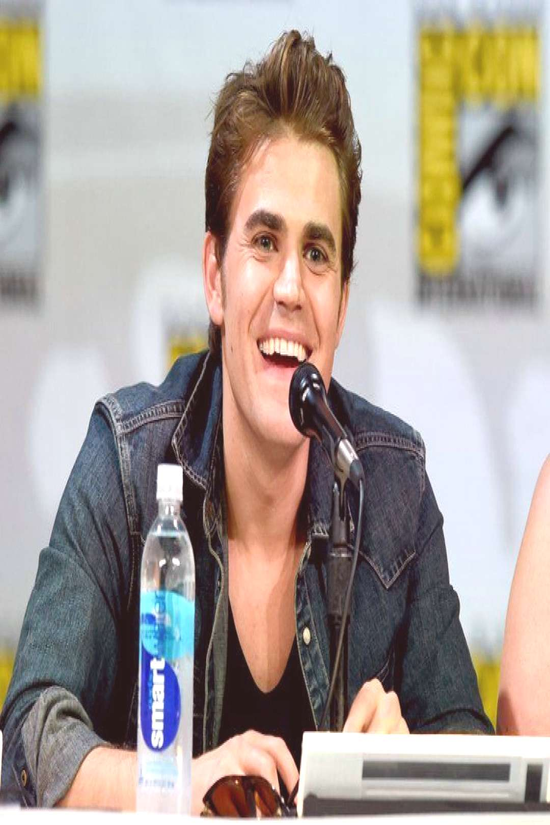 Paul Wesley - Paul Wesley  Pin for Later 28 Reasons Comic-Con Is Basically a Hot Guy Parade Paul