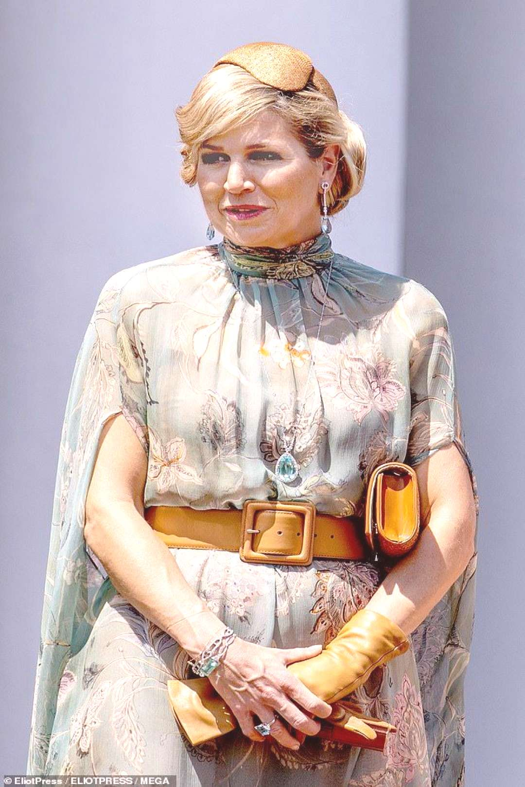 Queen Maxima of the Netherlands puts on a dazzling display - Queen Maxima of the Netherlands puts o
