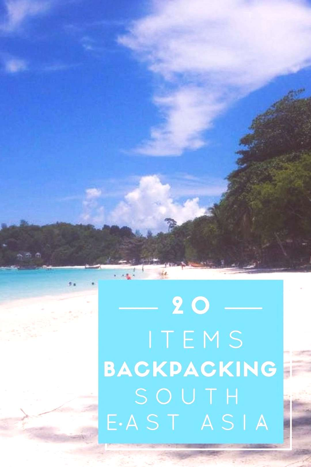 Read This List! Need to know Backpacking things to bring for traveling South East Asia, packing lis