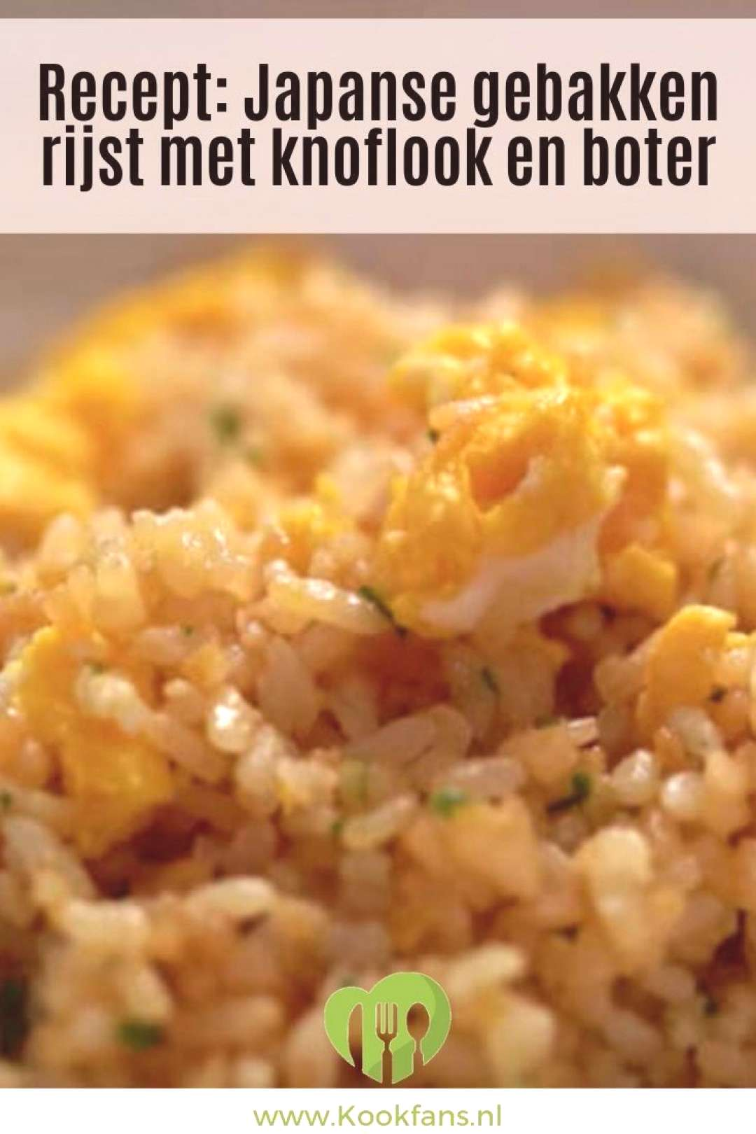 Recipe Japanese fried rice with garlic and butter Recipe Japanese fried rice with garlic and butt