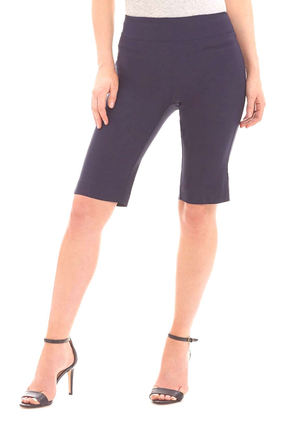 Rekucci Women s Ease in to Comfort Fit Pull On Modern City Shorts, Amazon Affiliate link. Click ima