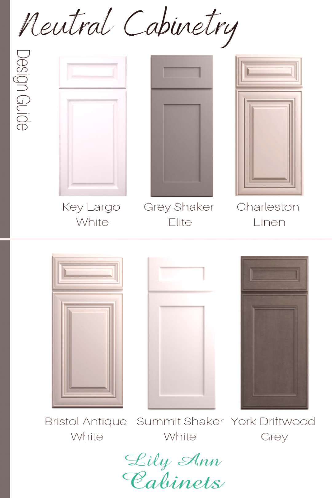 Shop Neutral Cabinetry at Lily Ann Cabinets + Get 50% Off Box Store Prices! Shop Neutral Cabinet Co