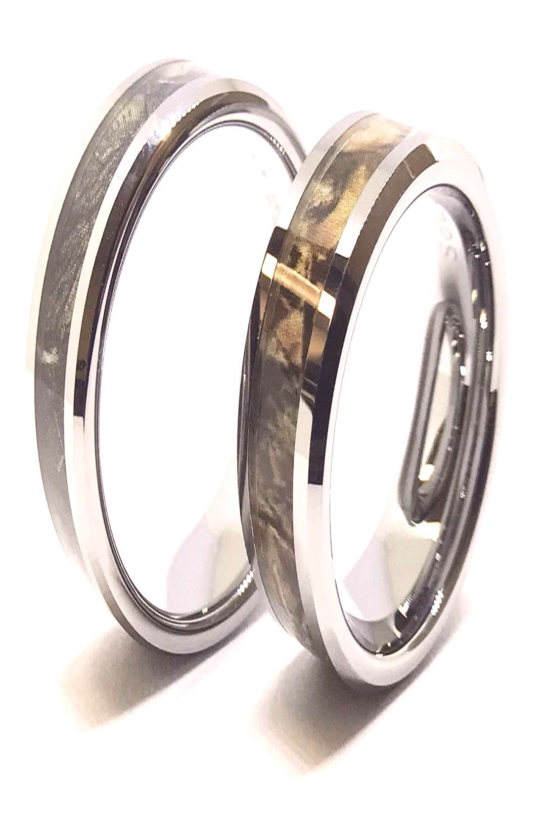 Southern Sisters Designs - Camo Couples Ring Set- His and Hers Set, $29.95 (uthernsiste...) Best P