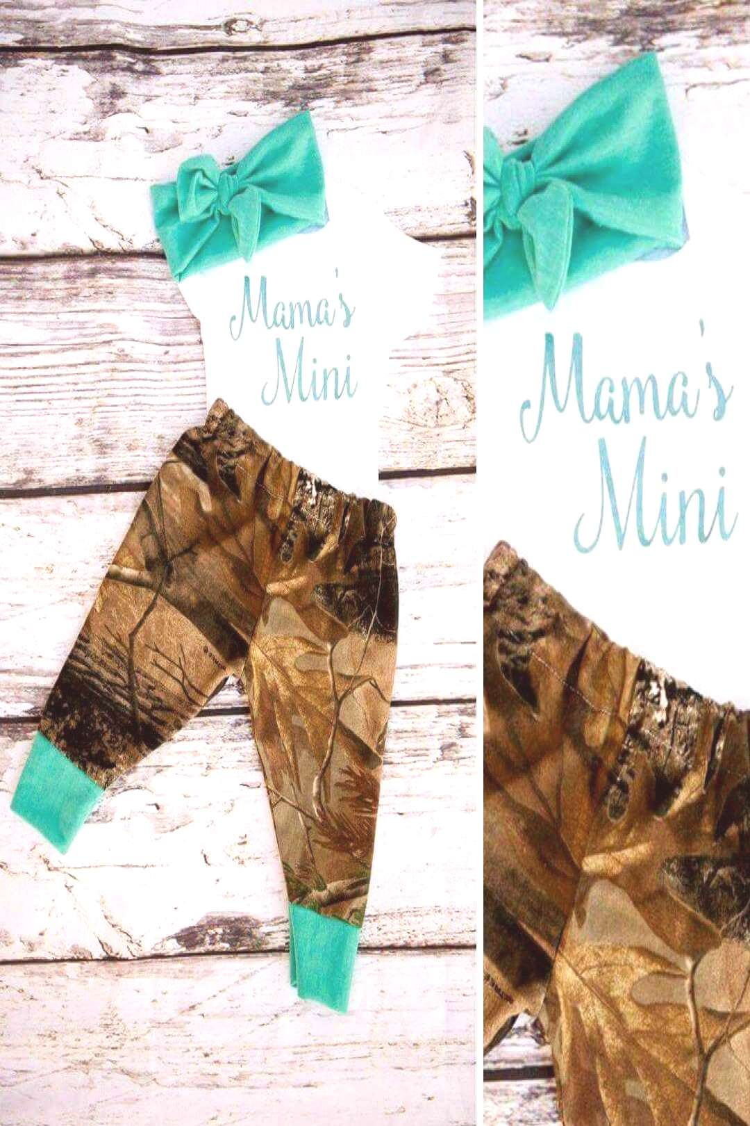 Teal Camo Baby Girl Outfit Informations About Teal Camo Baby Girl Outfit Pin You can easily use m
