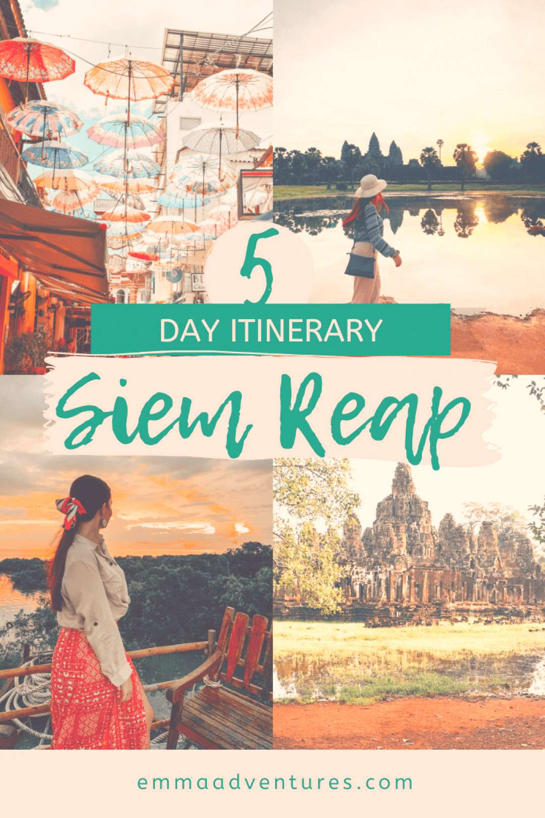 The best Siem Reap Itinerary with all the things to see and do in Siem Reap plus where to eat drink