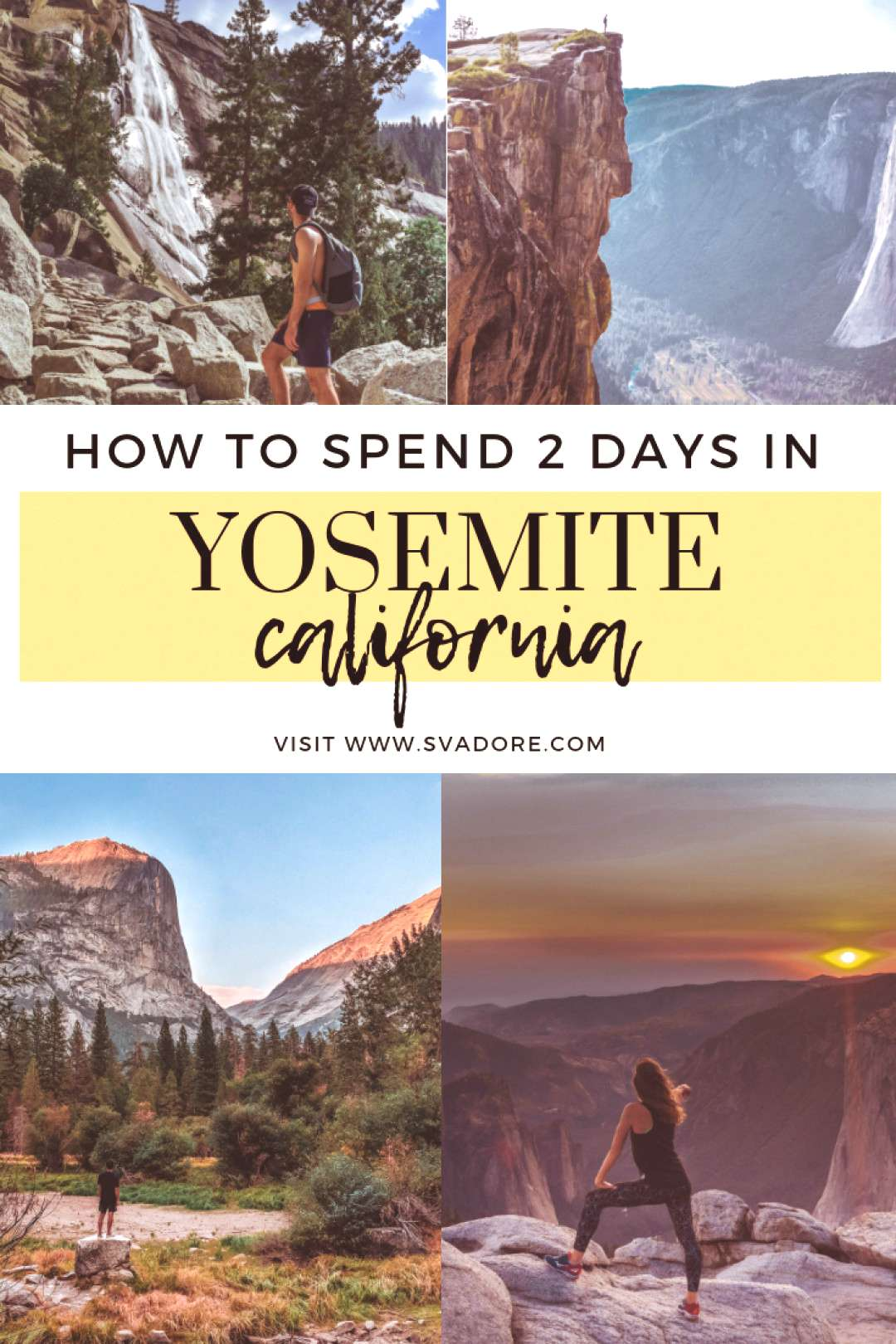 The Best Way to See Yosemite in 2 Days. How much can you see of Yosemite in 2 days? You'd be surp