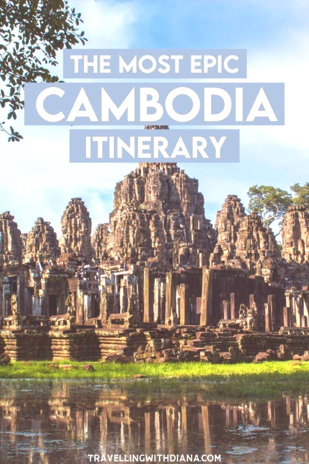 The Most Epic Cambodia 10 Day Itinerary. Cambodia is a gorgeous country full of beautiful natural s