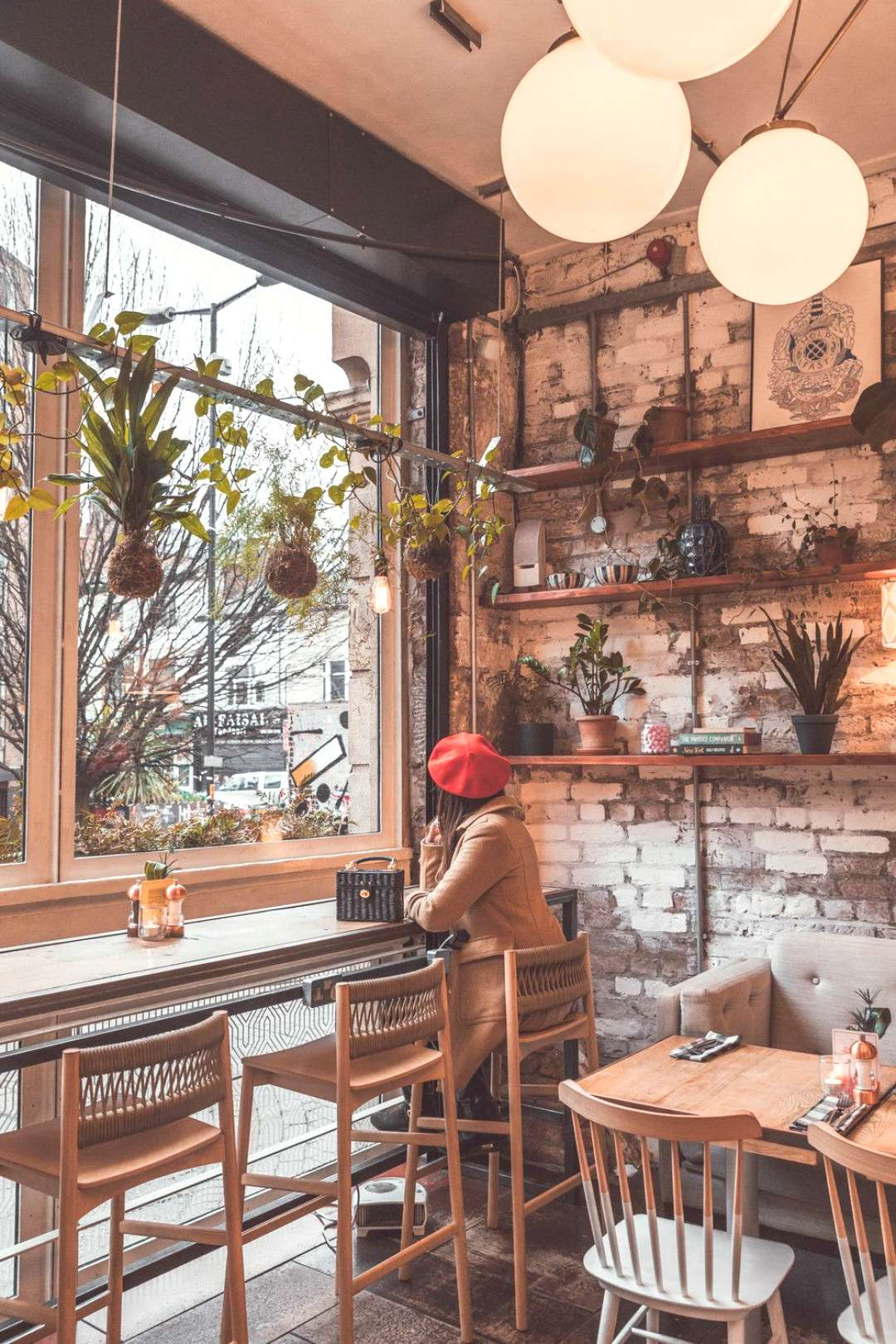 The succulent-filled interior of Evelyns Cafe Bar in Manchester // 11 INSTAGRAM-WORTHY PHOTO SPOTS