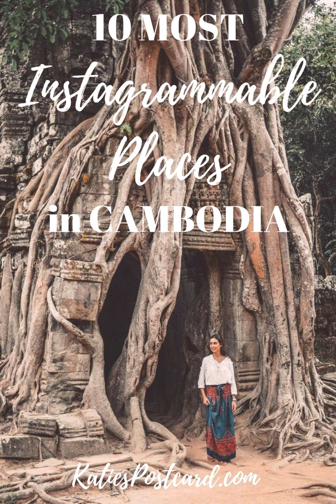 Top 10 most instagrammable places in Cambodia - Cambodia is a country you have to pity and admire.